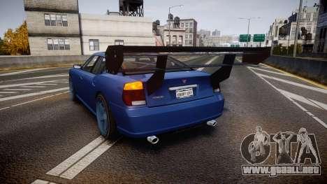 Bravado Buffalo Street Tuner para GTA 4 Vista posterior izquierda