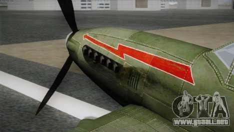 ИЛ-10 polaca de la Marina para la visión correcta GTA San Andreas