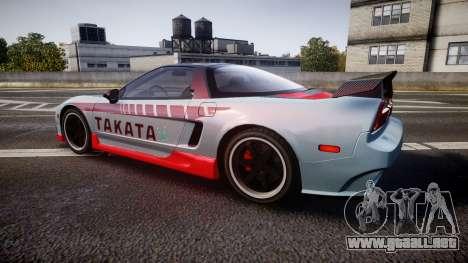 Honda NSX 1998 [EPM] takata para GTA 4 left