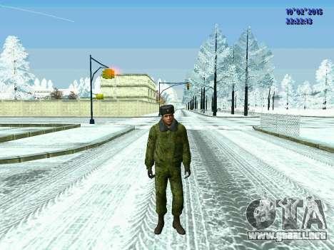 Pak militar de la Federación de rusia en el invi para GTA San Andreas