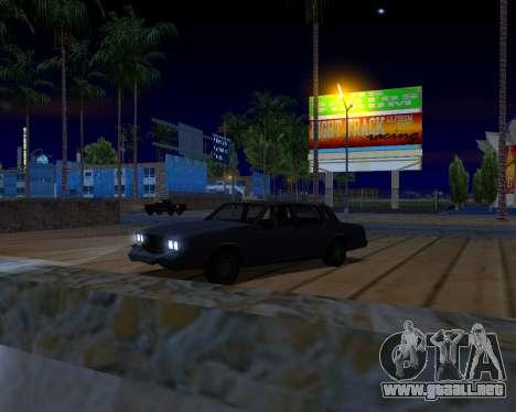 ENB v3.0.0 para PC débil para GTA San Andreas sexta pantalla
