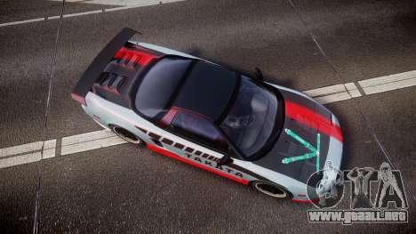 Honda NSX 1998 [EPM] takata para GTA 4 visión correcta