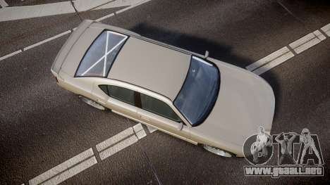 Bravado Buffalo Supercharged 2015 para GTA 4 visión correcta