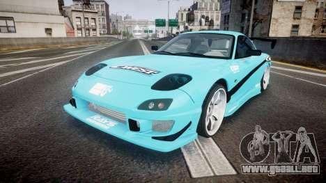 Mazda RX-7 C-West para GTA 4