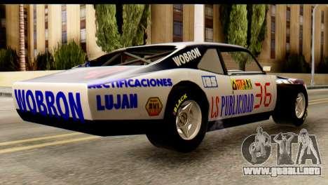 Chevrolet Series 2 Turismo Carretera Mouras para GTA San Andreas left