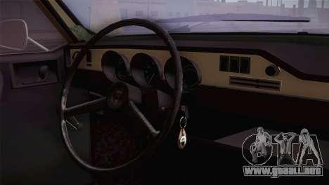 Dacia 1300 Biharia para la visión correcta GTA San Andreas