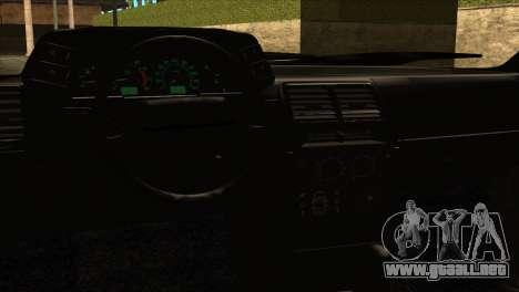 ВАЗ 2112 Feliz Gota Amigos para GTA San Andreas vista hacia atrás