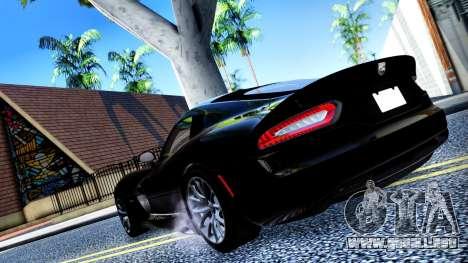 ENB Cal HD por medio de la PC para GTA San Andreas sexta pantalla