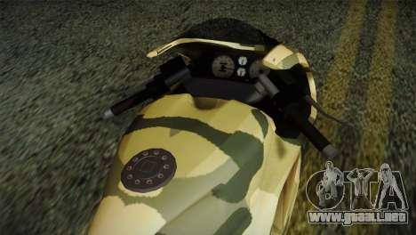 GTA 5 Bati Green para la visión correcta GTA San Andreas