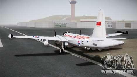 P2V-7 Lockheed Neptune JMSDF para GTA San Andreas left