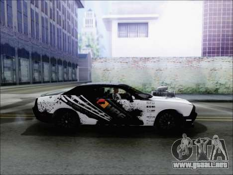 Dodge Challenger SRT8 Hemi Drag Tuning para GTA San Andreas left