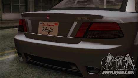 GTA 5 Sentinel para la visión correcta GTA San Andreas