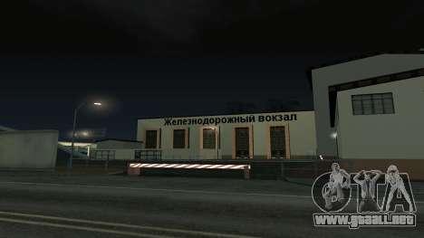 Colormod by Thomas para GTA San Andreas quinta pantalla