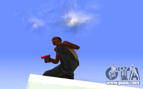 Glock-18 gradiente de CS:GO para GTA San Andreas tercera pantalla