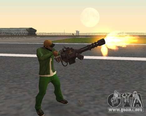 Hermosas tomas de armas para GTA San Andreas séptima pantalla