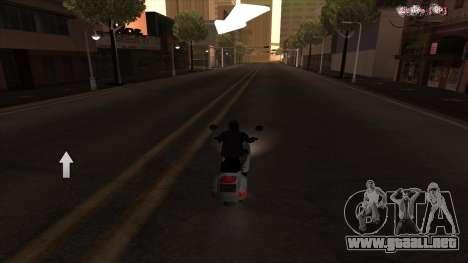 Navegador GPS con la voz de rusia para GTA San Andreas