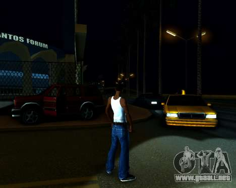 ENB v3.0.1 para GTA San Andreas sucesivamente de pantalla