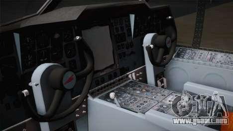 P2V-7 Lockheed Neptune JMSDF para GTA San Andreas vista hacia atrás
