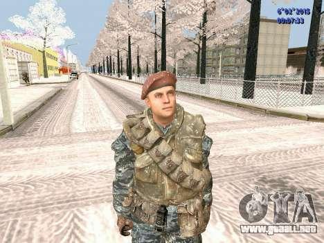 Las fuerzas especiales de la URSS CoD Black Ops para GTA San Andreas