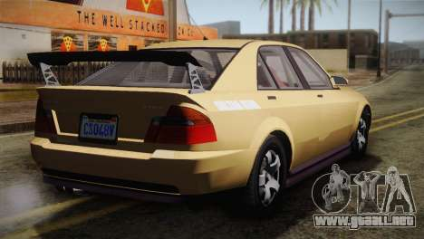 GTA 5 Karin Sultan para GTA San Andreas left