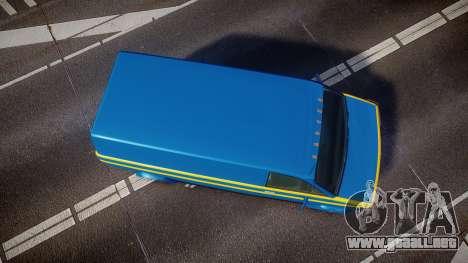 GTA V Declasse Burrito [Update] para GTA 4 visión correcta