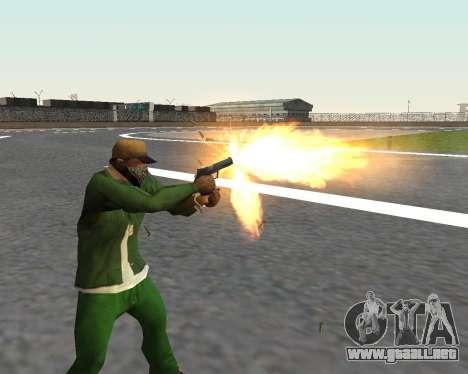 Hermosas tomas de armas para GTA San Andreas octavo de pantalla