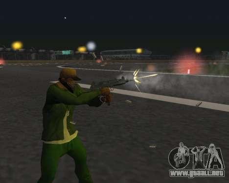 Hermosas tomas de armas para GTA San Andreas undécima de pantalla