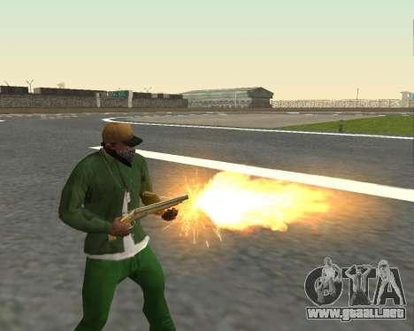 Hermosas tomas de armas para GTA San Andreas novena de pantalla