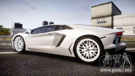 Lamborghini Aventador Hamann Limited 2014 [EPM] para GTA 4 left