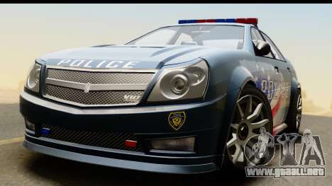EFLC TBoGT Albany Police Stinger IVF para la visión correcta GTA San Andreas
