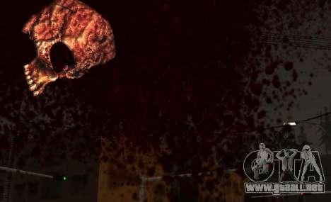 IMFX Gunflash para GTA San Andreas sucesivamente de pantalla