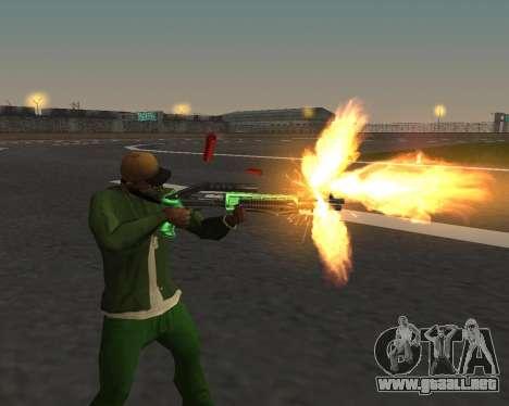 Hermosas tomas de armas para GTA San Andreas segunda pantalla