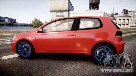 Volkswagen Golf Mk6 GTI rims3 para GTA 4 left