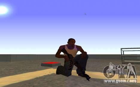 AK-47, Desert rebel CS:GO para GTA San Andreas sucesivamente de pantalla