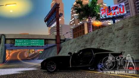 ENB Cal HD por medio de la PC para GTA San Andreas sucesivamente de pantalla