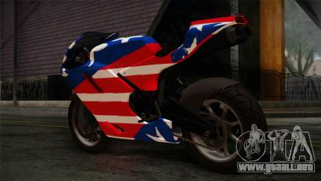 GTA 5 Bati American para GTA San Andreas left