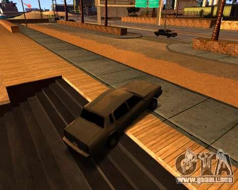 ENB v3.0.0 para PC débil para GTA San Andreas sucesivamente de pantalla