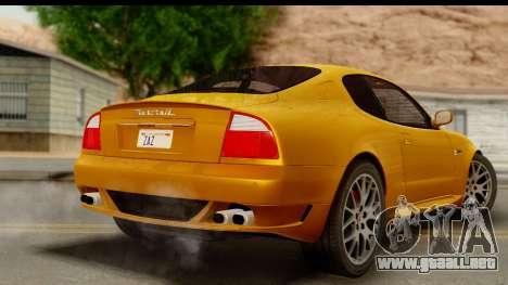 Maserati Gransport 2006 para GTA San Andreas left