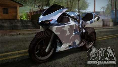 GTA 5 Bati Blue para GTA San Andreas