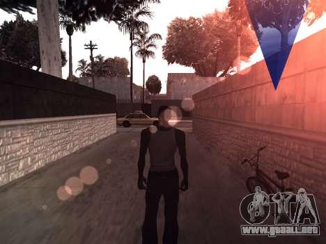 ColorMod by Sorel para GTA San Andreas segunda pantalla