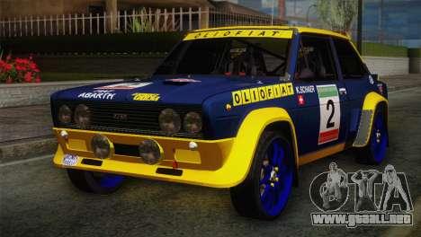 Fiat Abarth Sport Edition para GTA San Andreas