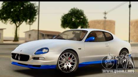 Maserati Gransport 2006 para la vista superior GTA San Andreas