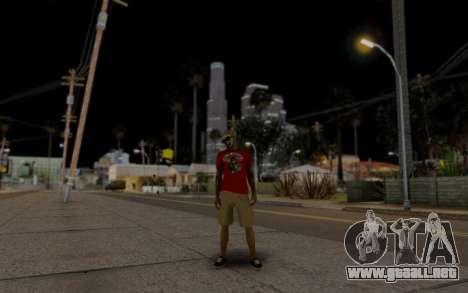 Warm Colors ENB para GTA San Andreas tercera pantalla
