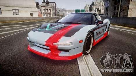 Honda NSX 1998 [EPM] takata para GTA 4