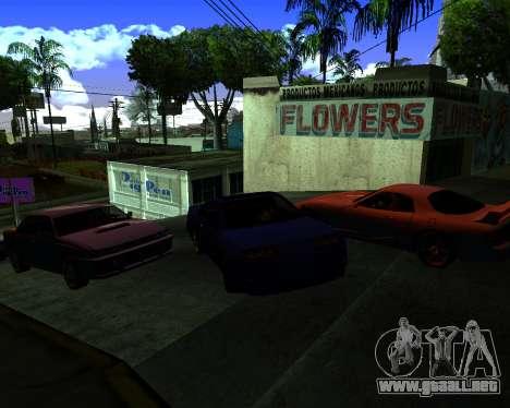 Warm California ENB para GTA San Andreas tercera pantalla