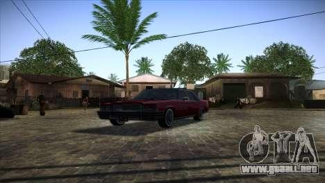 Ghetto ENB v2 para GTA San Andreas tercera pantalla