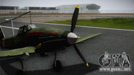 ИЛ-10 polaca de la Marina para GTA San Andreas vista hacia atrás