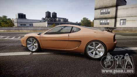 Grotti Turismo GT Carbon para GTA 4 left