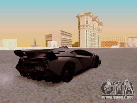 Lamborghini Veneno para la visión correcta GTA San Andreas