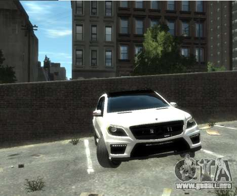 Mercedes-Benz GL500 2014 para GTA 4 left